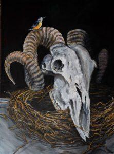 pintura sergio camporota cabron